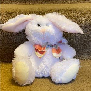Hallmark White Easter Bunny Plush Stuffed Animal